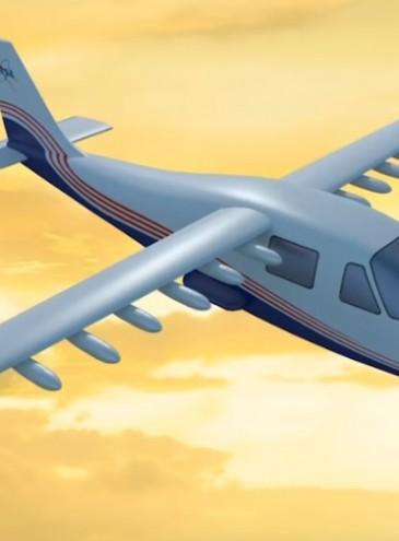 В NASA представили свой первый полностью электрический самолет