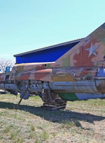 В Одессе летчики нашли три старых советских истребителя и хотят их восстановить до «музейного состояния»