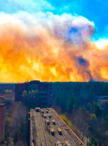 Не только Чернобыль: из-за засухи в Украине горят леса, штраф за поджог травы увеличен в десятки раз