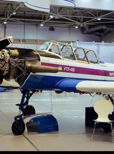 В Украине начали испытания нового легкого самолета от «Мотор Сич»