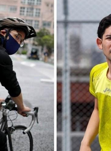 В Японии спортсмен работает в доставке еды, чтобы заработать на Олимпиаду