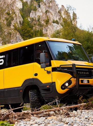 В Украине создали автобус-внедорожник «Преторианец», он получил престижную премию Red Dot