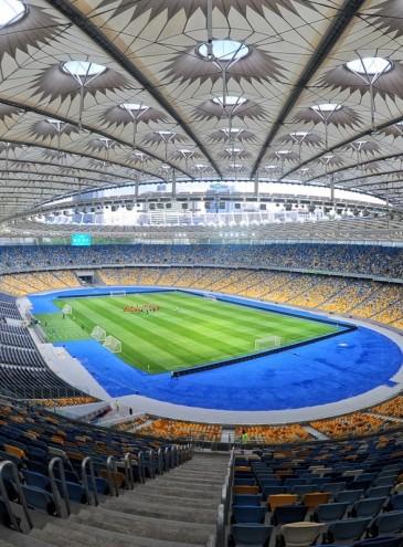 Стадион «Олимпийский» начал принимать всех желающих заниматься спортом