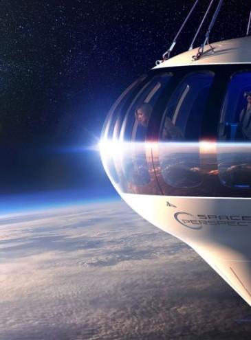 Американцы хотят возить туристов в космос на воздушном шаре: подниматься будут почти на 100 километров