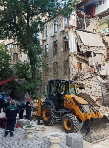 В Одессе снова обрушился дом-памятник архитектуры: это пятый случай за два месяца