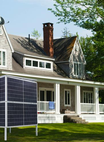 Украинская компания создала домашнюю солнечную электростанцию в виде куба: ее можно ставить где угодно