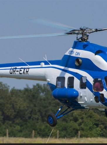В Запорожье зовут пассажиров на вертолетные экскурсии