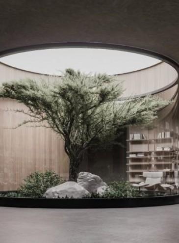 Украинский архитектор разработал комфортный и стильный подземный бункер Plan B с парком и кинотеатром