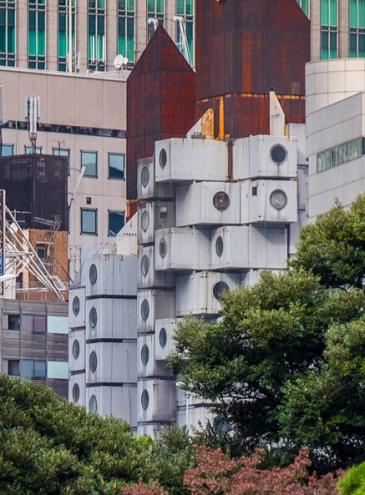 Вид из башни Накагин: одесский архитектор ведет Youtube-канал о своей работе и жизни в Японии