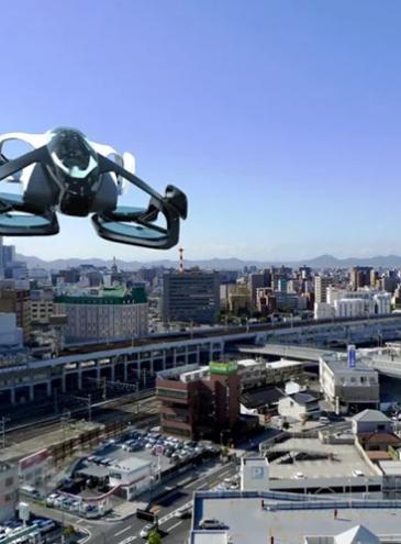 Японское правительство хочет летающие автомобили в 2023 году – компания обещает сделать их