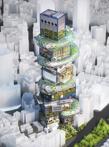 Небоскреб-город: как в Японии видят решение проблемы перенаселения