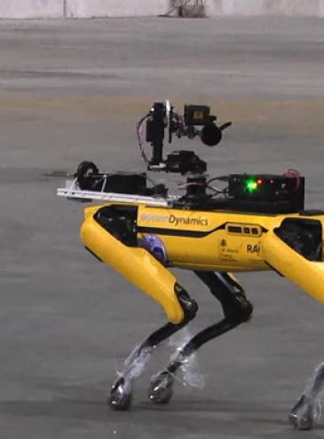В Чернобыле испытали робота-пса от Boston Dynamics