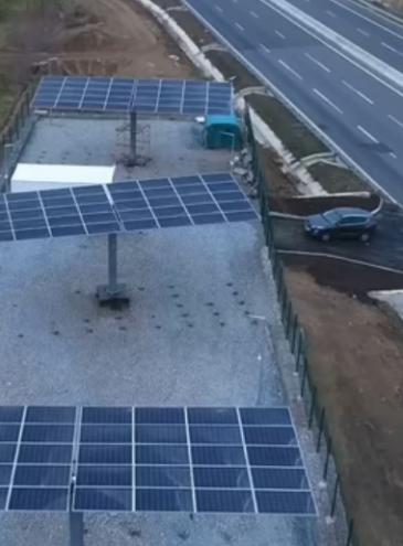 На трассе Одесса – Киев установили первую солнечную станцию для освещения дороги: будет еще