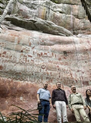 Невероятная находка: ученые нашли уникальную наскальную роспись возрастом 12,5 тысяч лет