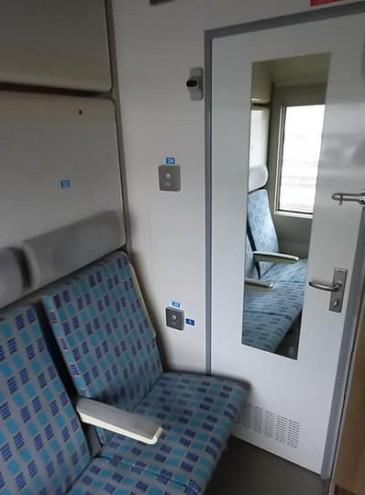 С душем, туалетом и розетками: «Укрзалізниця» запустила первый вагон повышенного комфорта