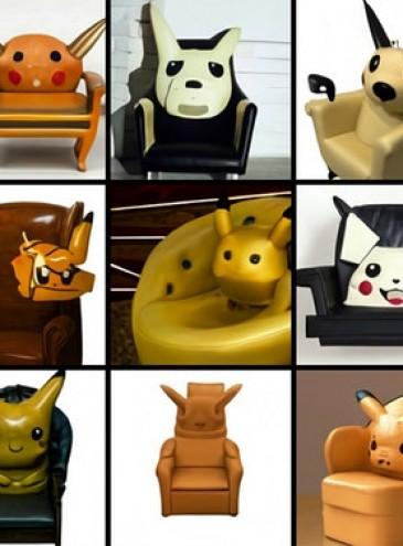 Кресло-Пикачу и другие звери: ИИ превращает странные запросы в картинки