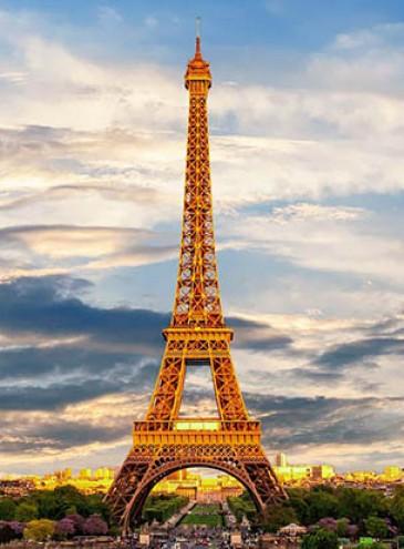 Эйфелева башня станет золотой к Олимпийским играм