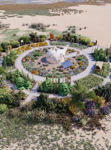 У фестиваля Burning Man появилась постоянная локация – Ранчо Флай