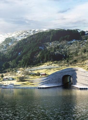 В Норвегии построят почти 2-километровый тоннель для кораблей