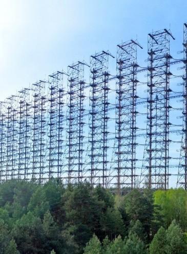 Радиолокационная станция «Дуга» в Чернобыле стала одним из памятников Украины
