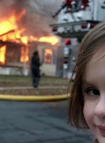 Мем «Девочка-катастрофа» стал токеном, который продали за 470 тысяч долларов