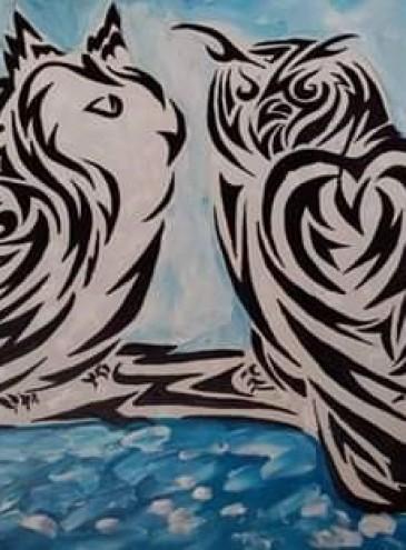 Из транса: трайбл и абстракции Елены Камелиной