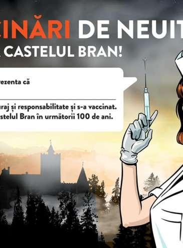 В замке Дракулы в Трансильвании открыли центр вакцинации