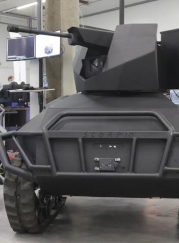 Оборона: «Мотор Січ» начала делать лопасти для вертолетов, а частная компания создала боевого робота