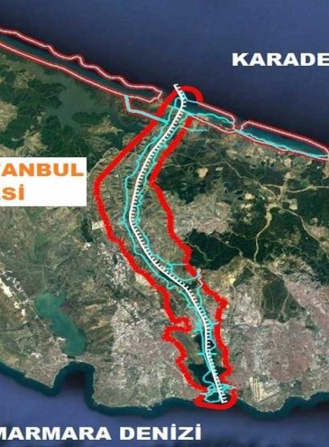 В Турции начали грандиозный проект: канал «Стамбул» параллельно Босфору