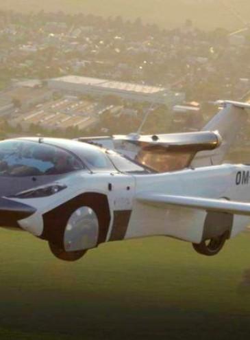 Летающий автомобиль совершил первый в истории междугородный перелет (видео)