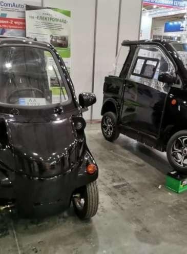 Украинская компания представила электромобили собственного производства