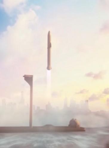 Маск создает плавучий космодром для путешествий ракетами по Земле