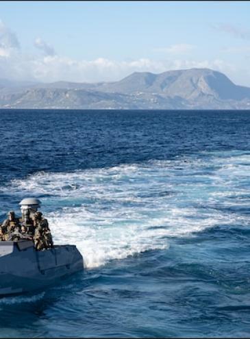 Женщина впервые прошла отбор в спецотряд ВМС США