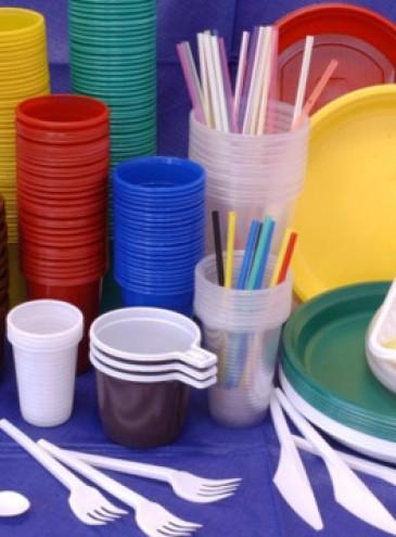 В Европе начал действовать запрет на 10 видов одноразовых изделий из пластика