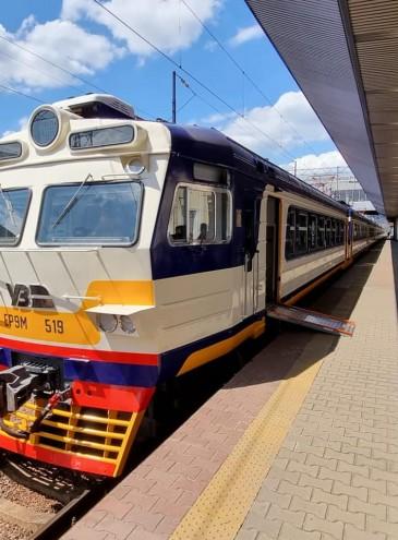В Україні запустили перший інклюзивний електропоїзд