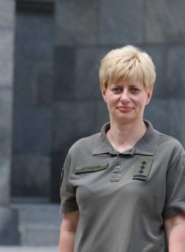 На посаду голови одного з командувань ЗСУ вперше призначили жінку