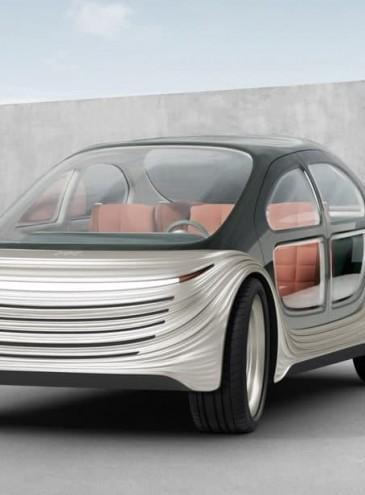 Создали первый электромобиль, очищающий воздух во время движения