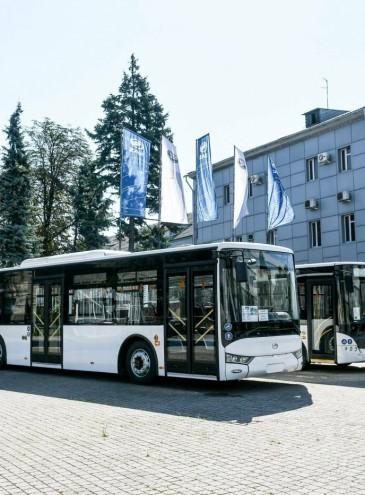 В Україні починають виробництво автобусів Mercedes-Benz