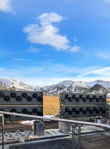 В Ісландії почав працювати найбільший завод для видалення СО2 з атмосфери