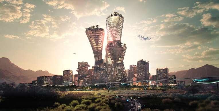 В американской пустыне планируют построить город будущего – умный и экологичный
