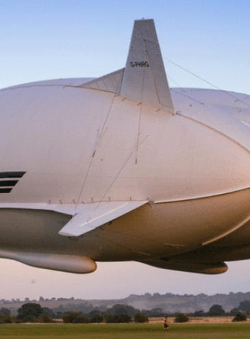 Гигантский люксовый дирижабль планируют отправить в полет через Северный полюс