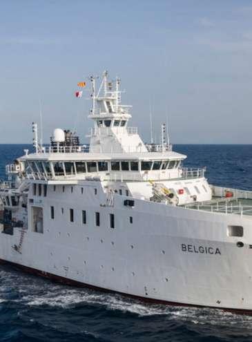 Бельгія передала Україні легендарне наукове судно