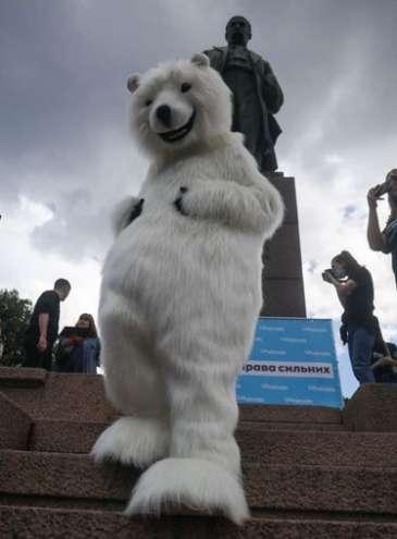В десятках городов Украины и даже в Антарктиде прошли марши в защиту животных